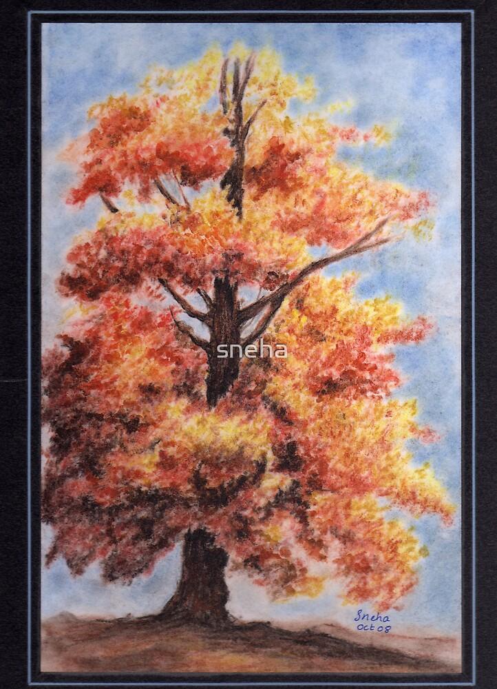 oak tree by sneha