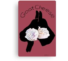 Goat Cheese (Cranberry) Canvas Print
