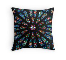 Sewanee Stained Glass Throw Pillow