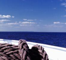 Sailing Forward Sticker