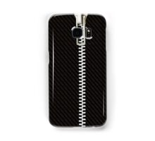 Funny black texture Zipper Samsung Galaxy Case/Skin