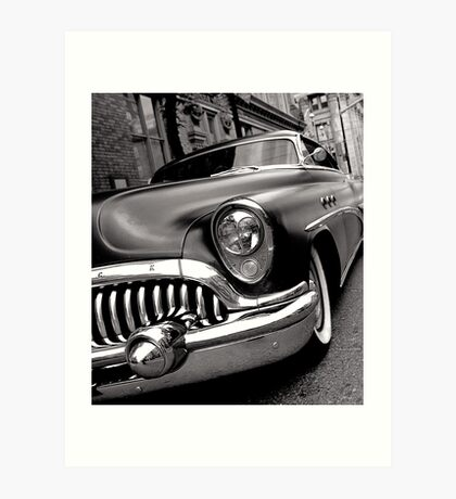 Back to the Past Art Print