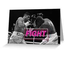 Boxing - Fight Greeting Card