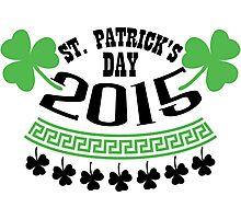 St. Patrick's day 2015 Photographic Print