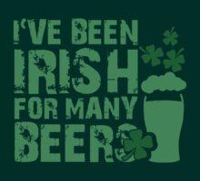 I've been irish for so many beers by nektarinchen