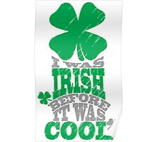I was irish before it was cool Poster