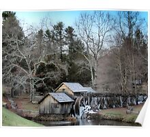 Mabry Mill, Blue Ridge Parkway Poster