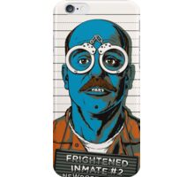 Frightened Inmate #2 iPhone Case/Skin
