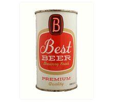 Best beer Art Print