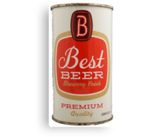 Best beer Canvas Print