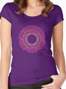 Purple Ornament 2 Women's Fitted Scoop T-Shirt
