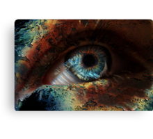 Spooky Eye Canvas Print