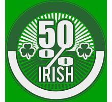 50 % irish Photographic Print