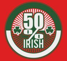 50 % irish One Piece - Short Sleeve