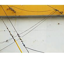 Abstract Tension Photographic Print