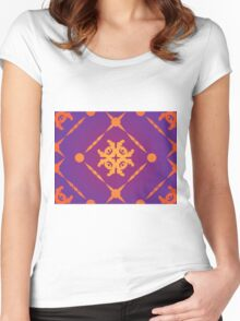 Orange Ornament 2 Women's Fitted Scoop T-Shirt