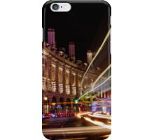 London Regent Street at Night iPhone Case/Skin