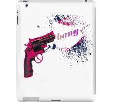 Bang iPad Case/Skin