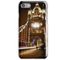 London Tower Bridge at Night iPhone Case/Skin