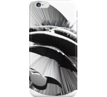 """""""Angst I"""" oil painting as a Spherical Depth Map. 3 iPhone Case/Skin"""