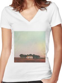 South Side Women's Fitted V-Neck T-Shirt