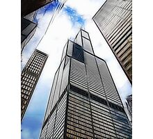 SEARS TOWER FRACTALIUS Photographic Print