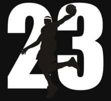JAMES LEBRON NUMBER 23 CAVALIERS by SOVART69