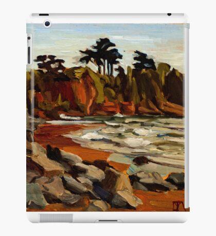 A Tramp Along the English Riviera. iPad Case/Skin