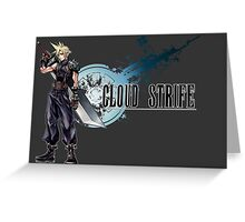 Cloud Strife Greeting Card