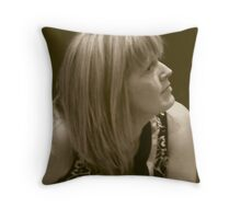 Lovely Lady 3 Throw Pillow