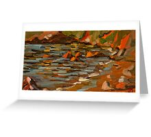 Early morning at Oyster Cove Greeting Card
