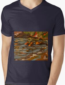 Early morning at Oyster Cove Mens V-Neck T-Shirt