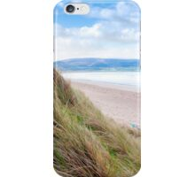 view from dunes at the maharees iPhone Case/Skin