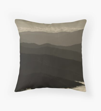 Mt Buffalo Throw Pillow