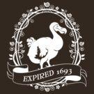Dodo: Expired 1693 (white) by sirwatson