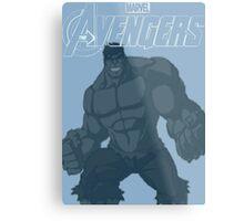 The Avenger Hulk Metal Print