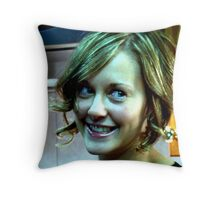 Lovely Lady 8 Throw Pillow