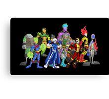 poster I: superheroes/villains Canvas Print