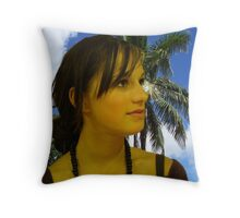 Lovely Lady 15 Throw Pillow