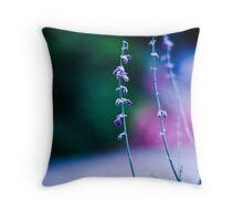Lavender Days Throw Pillow