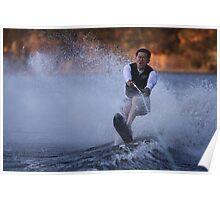 water ski Poster