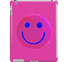 Pink Smiley Face iPad Case/Skin