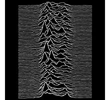 Pulsar waves - Black&White Photographic Print