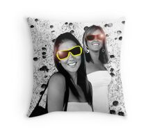Lovely Lady 36 Throw Pillow