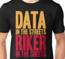 STAR TREK TNG The Next Generation Captain Riker Data Unisex T-Shirt