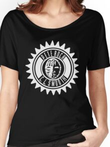 Pete Rock & CL Smooth tee (white logo) Women's Relaxed Fit T-Shirt