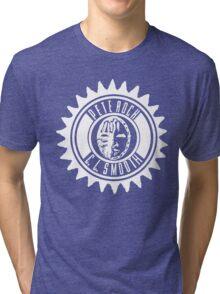 Pete Rock & CL Smooth tee (white logo) Tri-blend T-Shirt