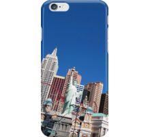 "The ""New York New York"" Hotel and Casino in Las Vegas, Nevada iPhone Case/Skin"