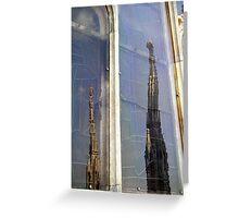 Milano- the Duomo Greeting Card