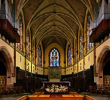 All Saints Chapel...the Other Side by Marylee Pope